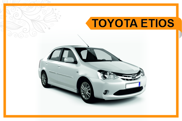 Toyota Etios car taxi ujjain