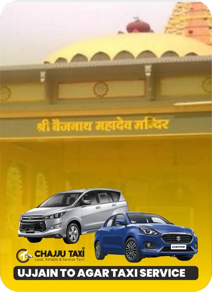 ujjain to agar taxi service