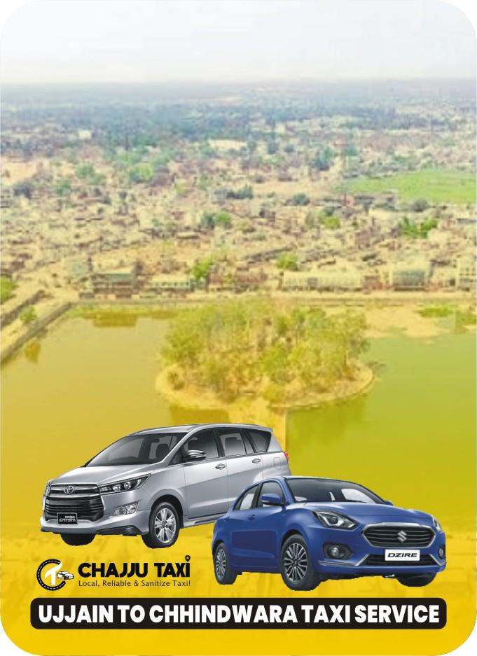 Best Ujjain to Chhindwara Taxi Service