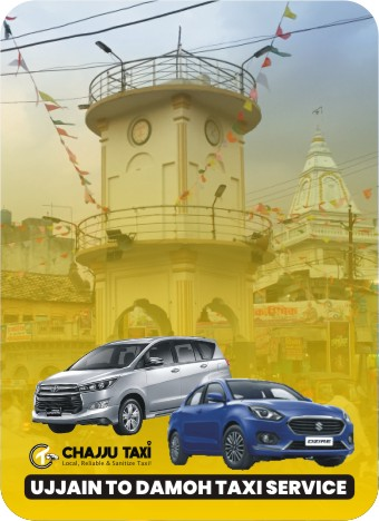 1 of Best Ujjain to Damoh Taxi Service
