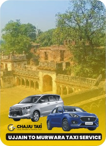ujjain to murwara taxi